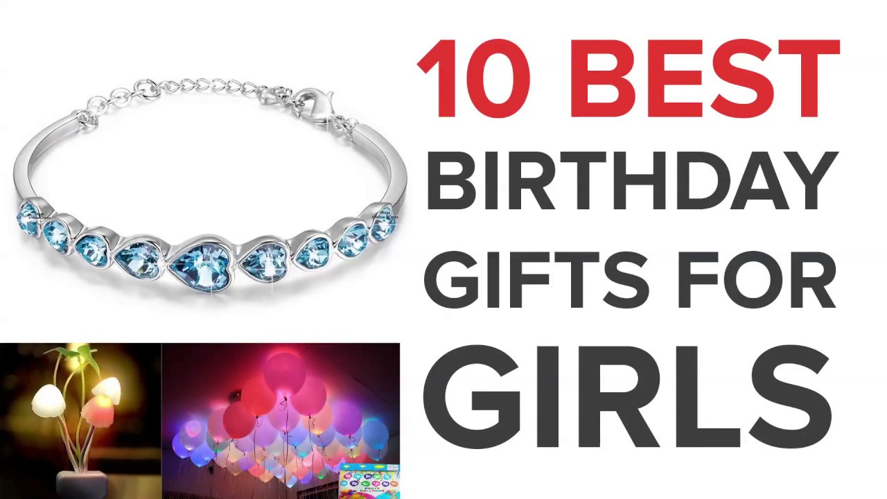 10 Best Birthday Gifts For Girls In India Youtube
