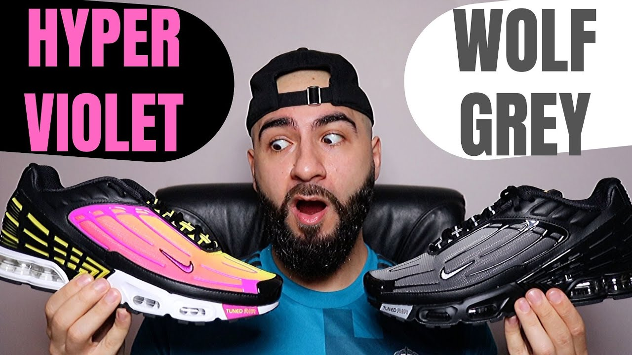 A CLASSIC REDEFINED Nike TN Air Max Plus 3 Hyper-Violet / Wolf Grey Review