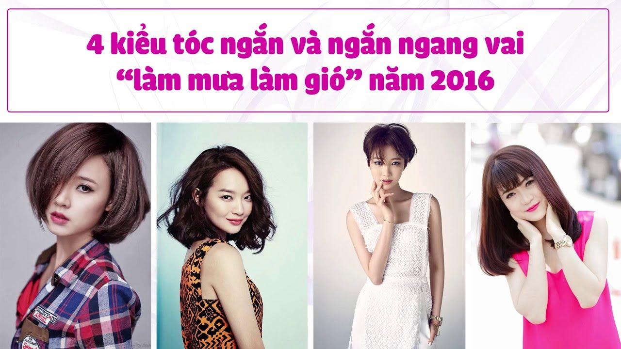 4 Kiểu Tóc Ngắn Đẹp Nhất Cho Bạn Nữ 2016