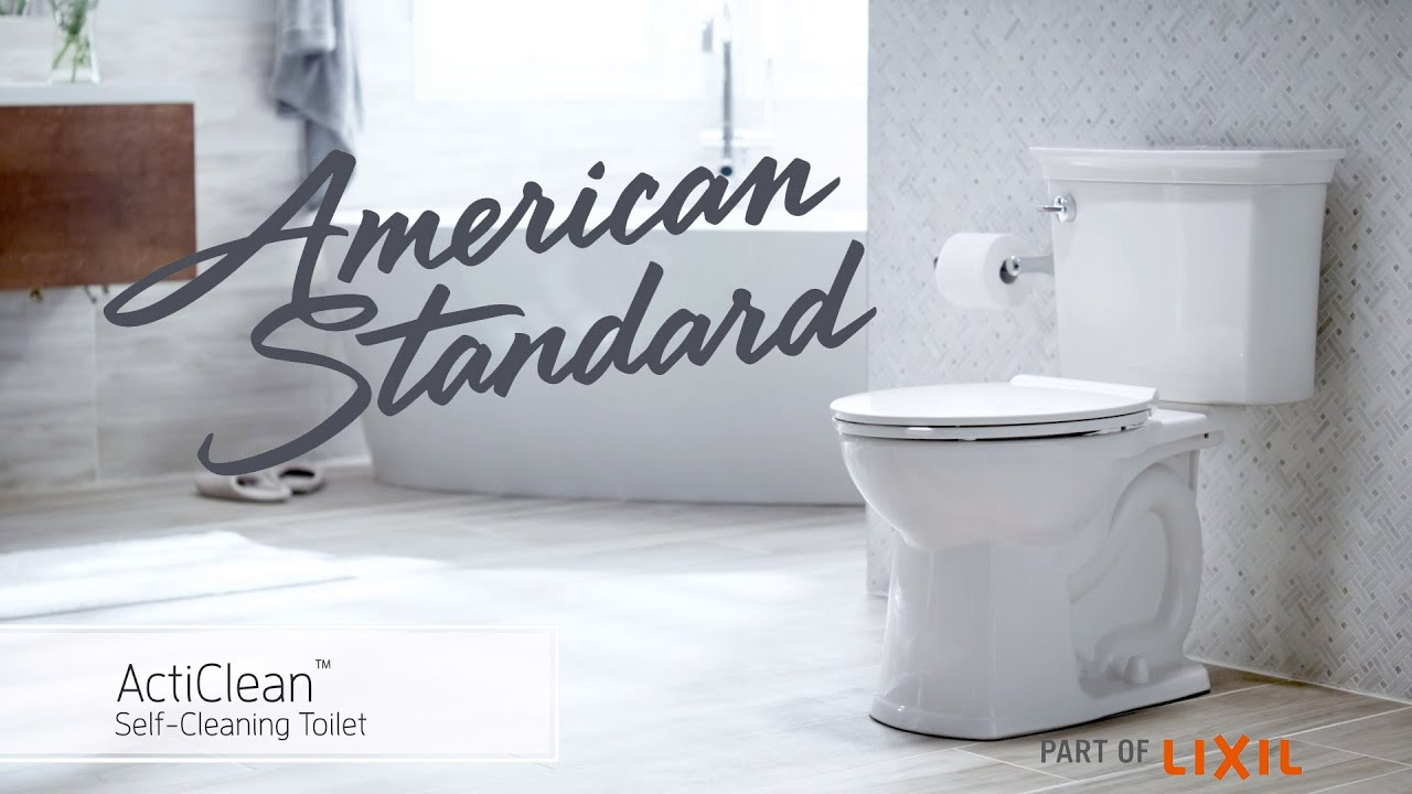 Acticlean Self Cleaning Toilet From American Standard