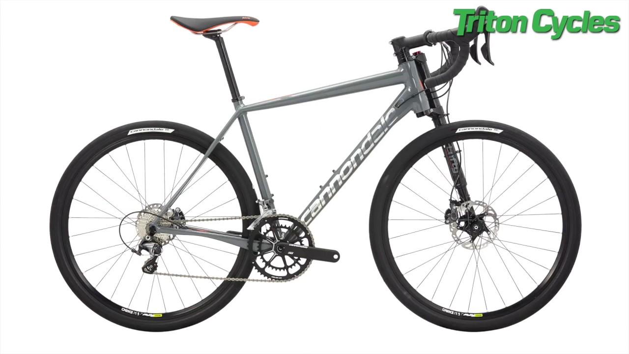eec5aede9d6 Cannondale Slate Ultegra Gravel Road Bike - YouTube