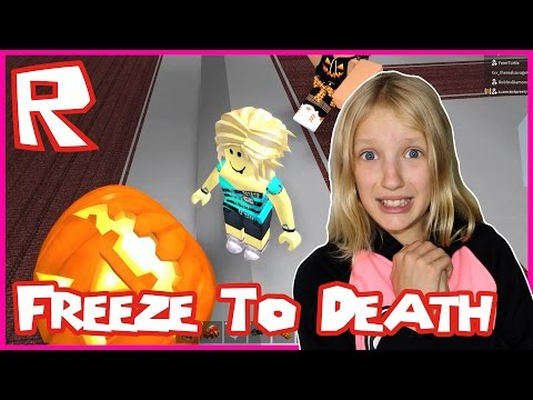 Freeze To Death / Roblox Freeze Tag Hallows Eve Halloween edition!