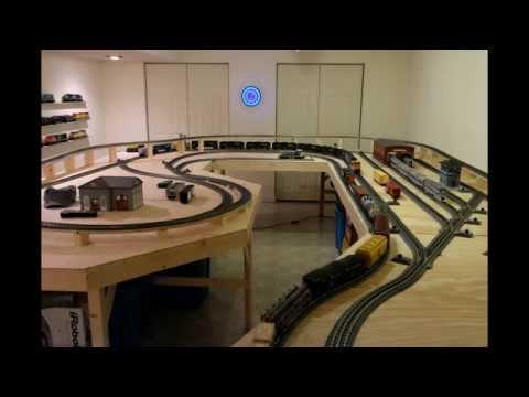 O Scale Mth Train Layout Number 1 Youtube