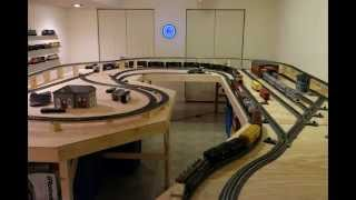 o scale mth train layout number 1