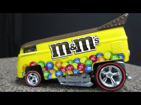 Hot Wheels 2015 Pop Culture Mars With VW Drag Bus Chevy Panel Dodge A100 And More