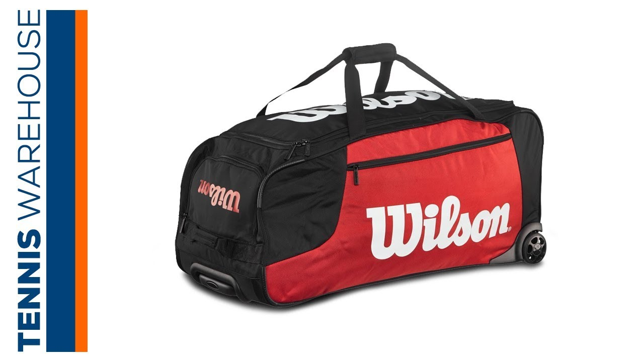 ff6e741e67 Wilson Travel Duffel Bag with Wheels. Tennis Warehouse