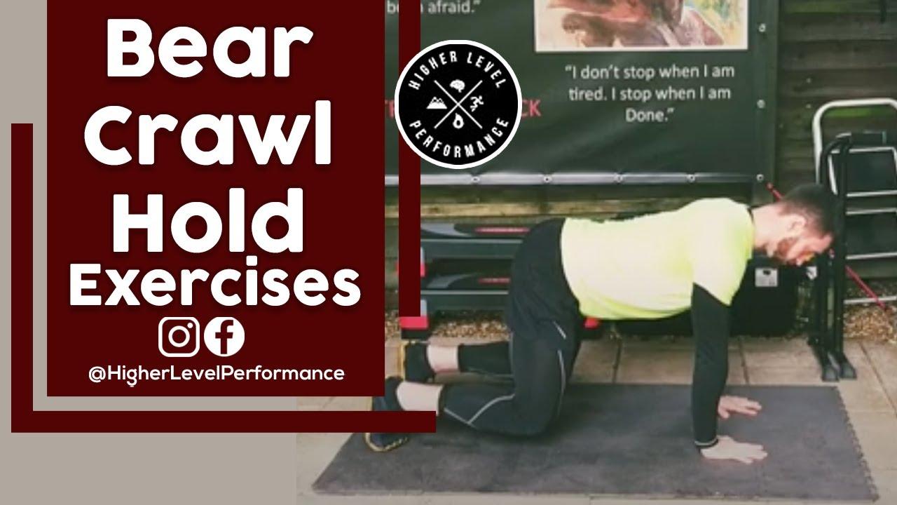 How to do the Bear Crawl