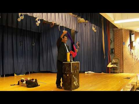 The Magic of Vince at a Staten Island school