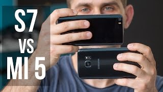 Samsung Galaxy S7 vs Xiaomi Mi 5 video stabilization test: OIS comparison