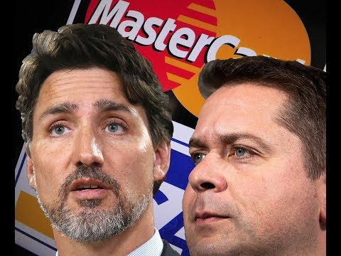 PRICELESS CORPORATE WELFARE: Trudeau Gifts Mastercard With $50M?!