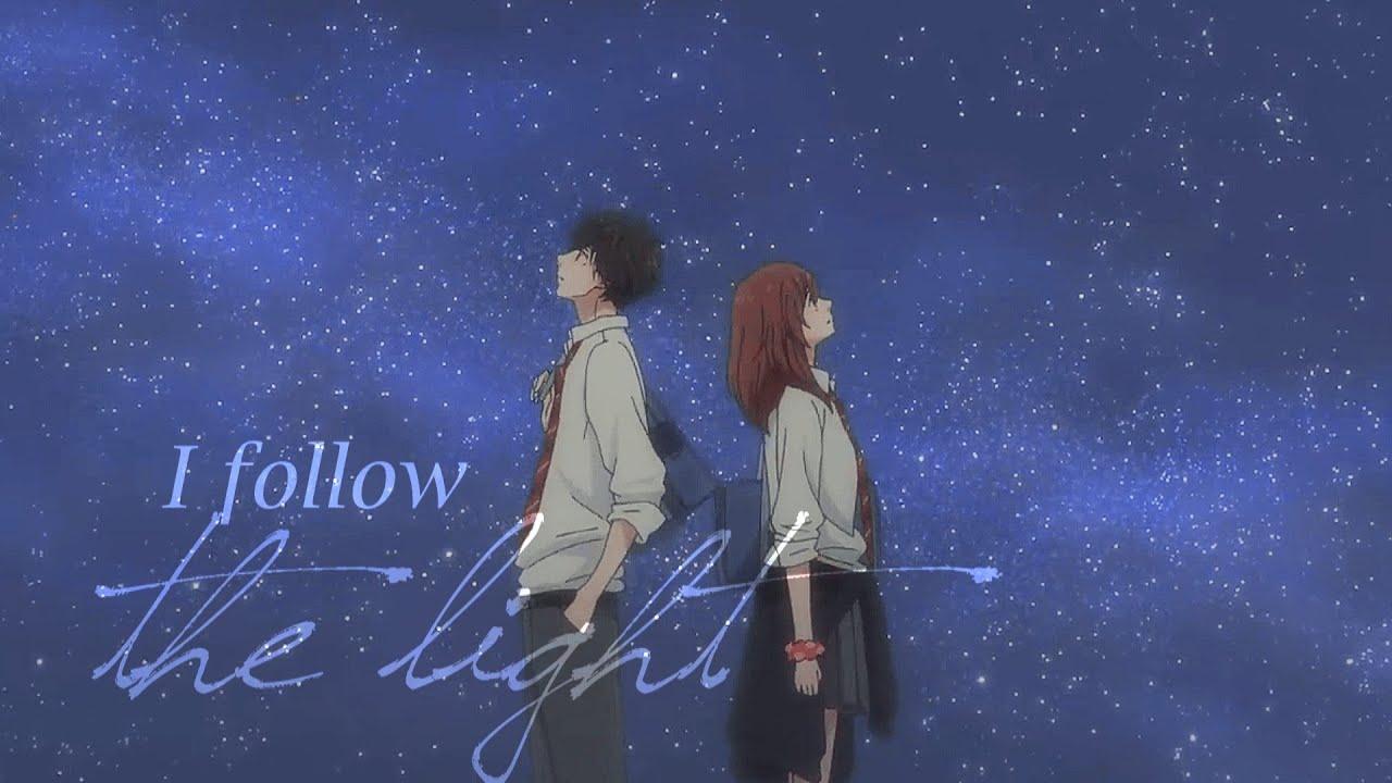 Follow The Light Kou Amp Futaba Ao Haru Ride 「amv」 Youtube