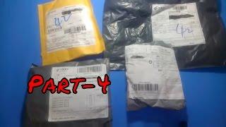 Aliexpress'ten Gelen Toplu Siparişler Paket Açılımı Unboxing Part-4  Yurtdış