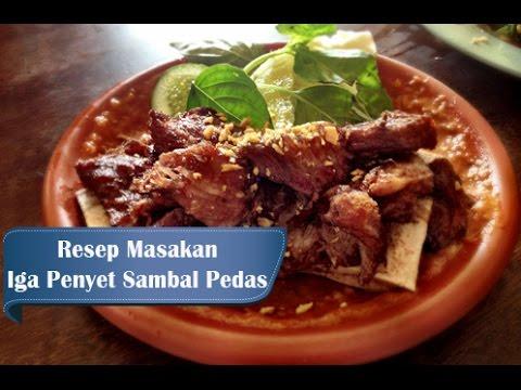 resep-dan-cara-membuat-iga-penyet-sambal-pedas