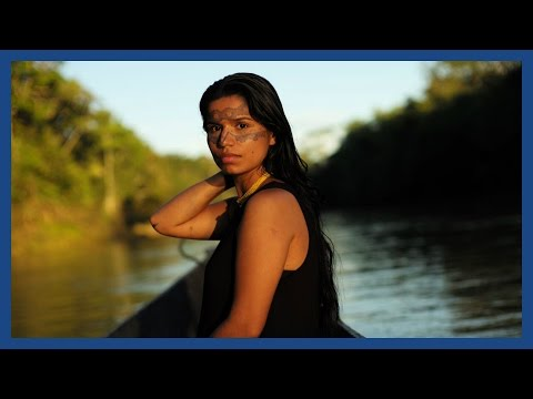 The living forest: the Amazonian tribespeople who sailed down the Seine | Guardian Docs