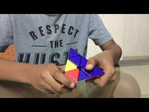 How to make a pyramid rubiks cube