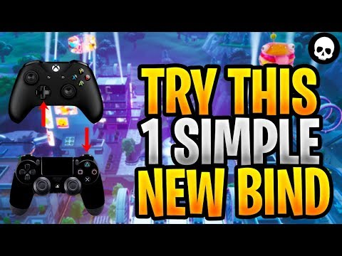 Controller Players NEED To Try This 1 Simple Bind! (Fortnite Custom Binds - Xbox + PS4)