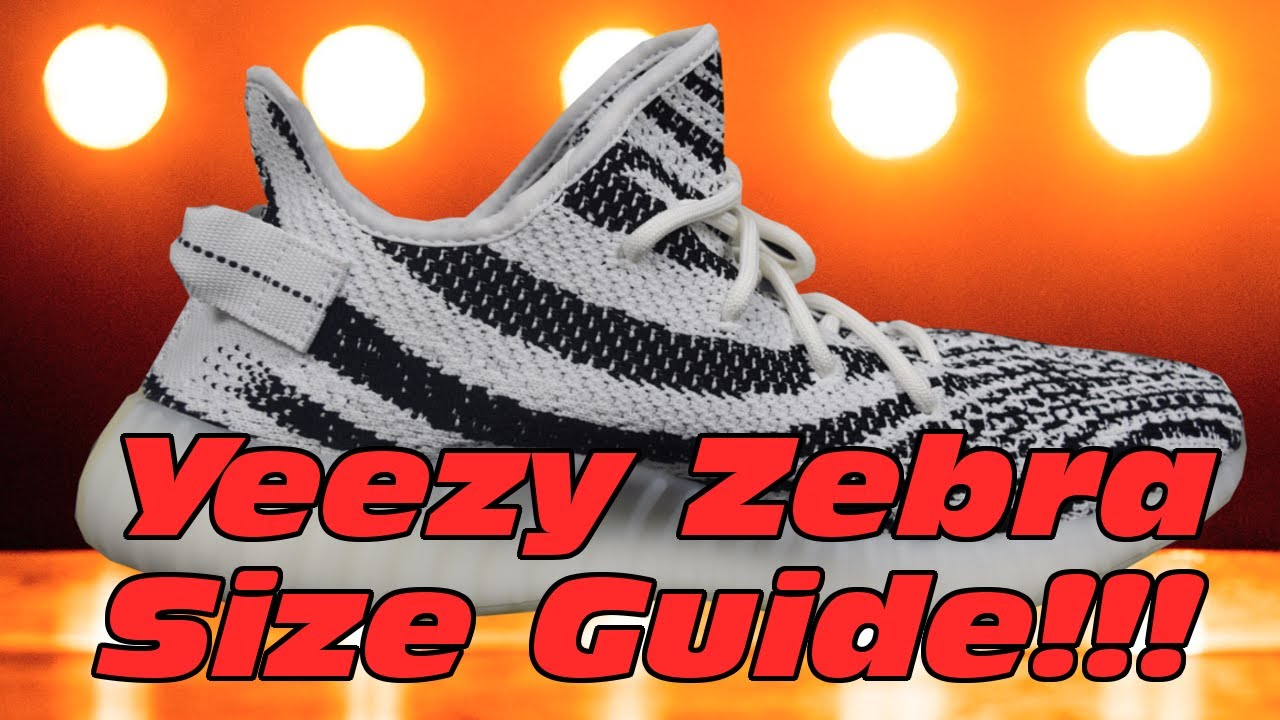 dd0556d2a27 Do Yeezy Zebras Fit Big Mythbusting!!! Yeezy V2 Zebra Size   Fit Guide!!!