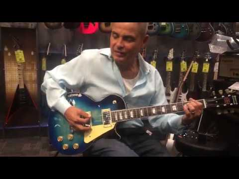 After short  with mike powers'' dave buys a powers custom pc 2 blue burst