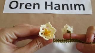 Hanımeli Çiçeği Oyası ♡