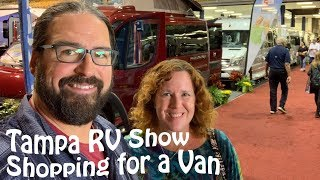 We're Shopping for a Class-B Van Conversion! (Tampa RV Show Report)