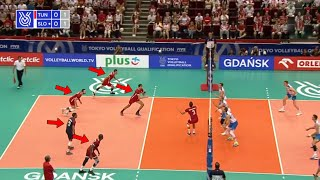 ALL TEAM ATTACKS | Most Creative Volleyball Actions (HD)