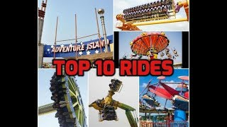 Top 10 most terrifying Rides| Adventure Island | Rohini