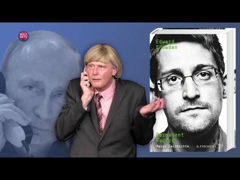 Snowden deckt auf: Geheimtelefonat zwischen Putin und Merkel