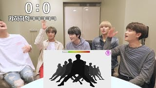 (ENG SUB)GoToe VS NCT 127 GUESS THE SILHOUETTED CHOREOGRAPHY