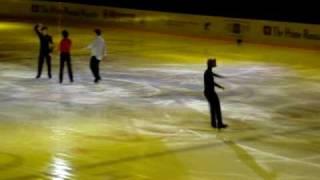 Короли льда Johnny Weir, Evgeny Plushenko, Stephane Lambiel и Brian Joubert