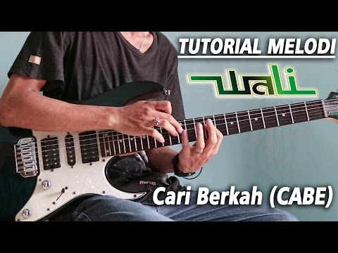 Tutorial Melodi WALI - CARI BERKAH (CABE) Detail | Slow Motion