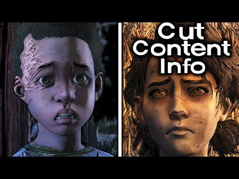 Tenn Was Going To Get Clem BIT! Cut Content Info The Walking Dead The Final Season Episode 4