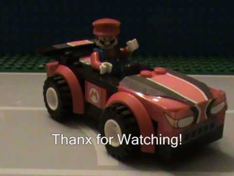 Lego mario kart wii interactive car selection 3 wild wing for Coupe miroir mario kart wii
