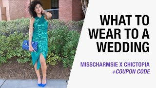 What to Wear to a Wedding - Black Tie, Formal, Semi-formal   MissCharmsie x Chictopia