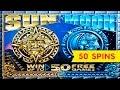 Sun & Moon Slot - BIG WIN BONUS - 50 FREE GAMES BONUS ...