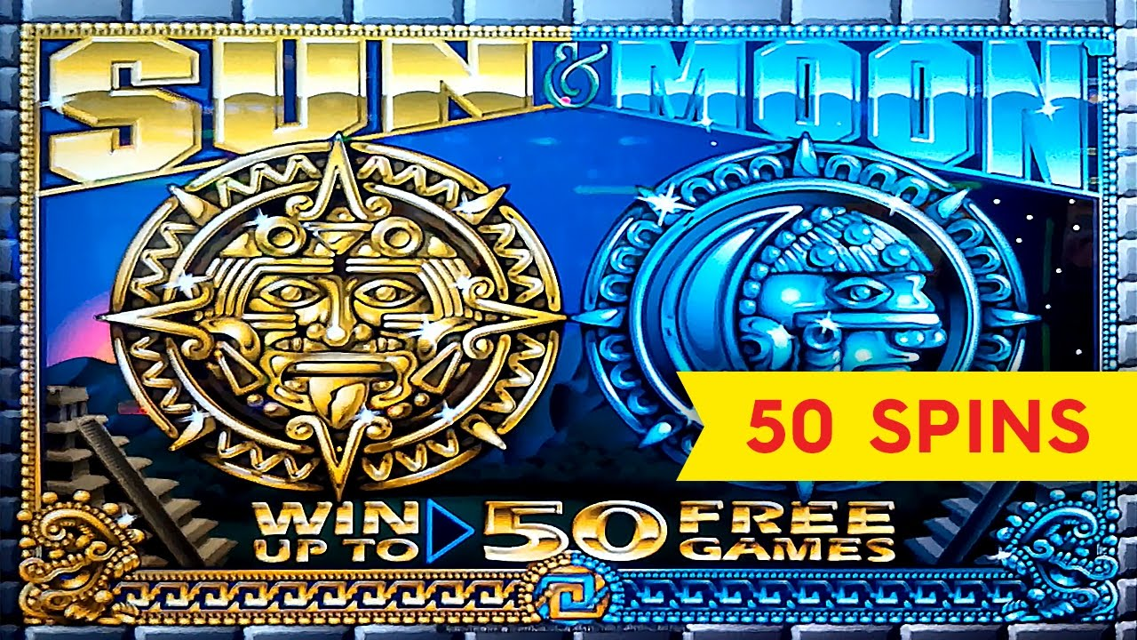 Sun And Moon Games Slots Free