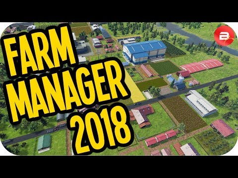 Farm Manager 2018 ▶BANISHED + FARMING SIM◀ Farm Manager 2018 Simulation Gameplay