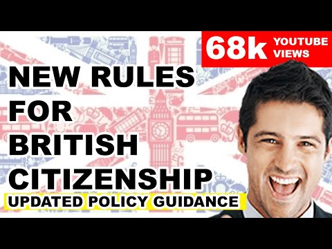 NEW RULES FOR BRITISH CITIZENSHIP ANNOUNCED | 2019 HD