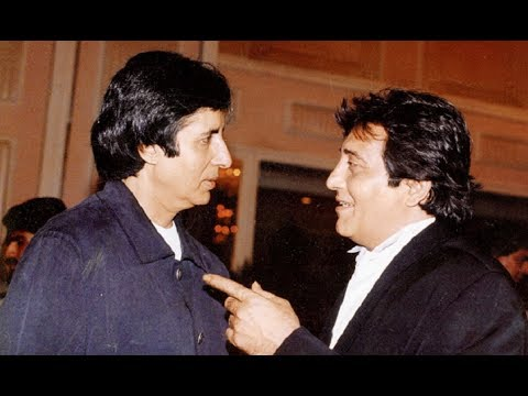 Why Amitabh Bachchan has  thrown glass on Vinod Khanna's face ?
