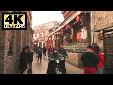 A Walk In Shichahai, Beijing, Hutong Tour | What's It Like In China? 《4K》