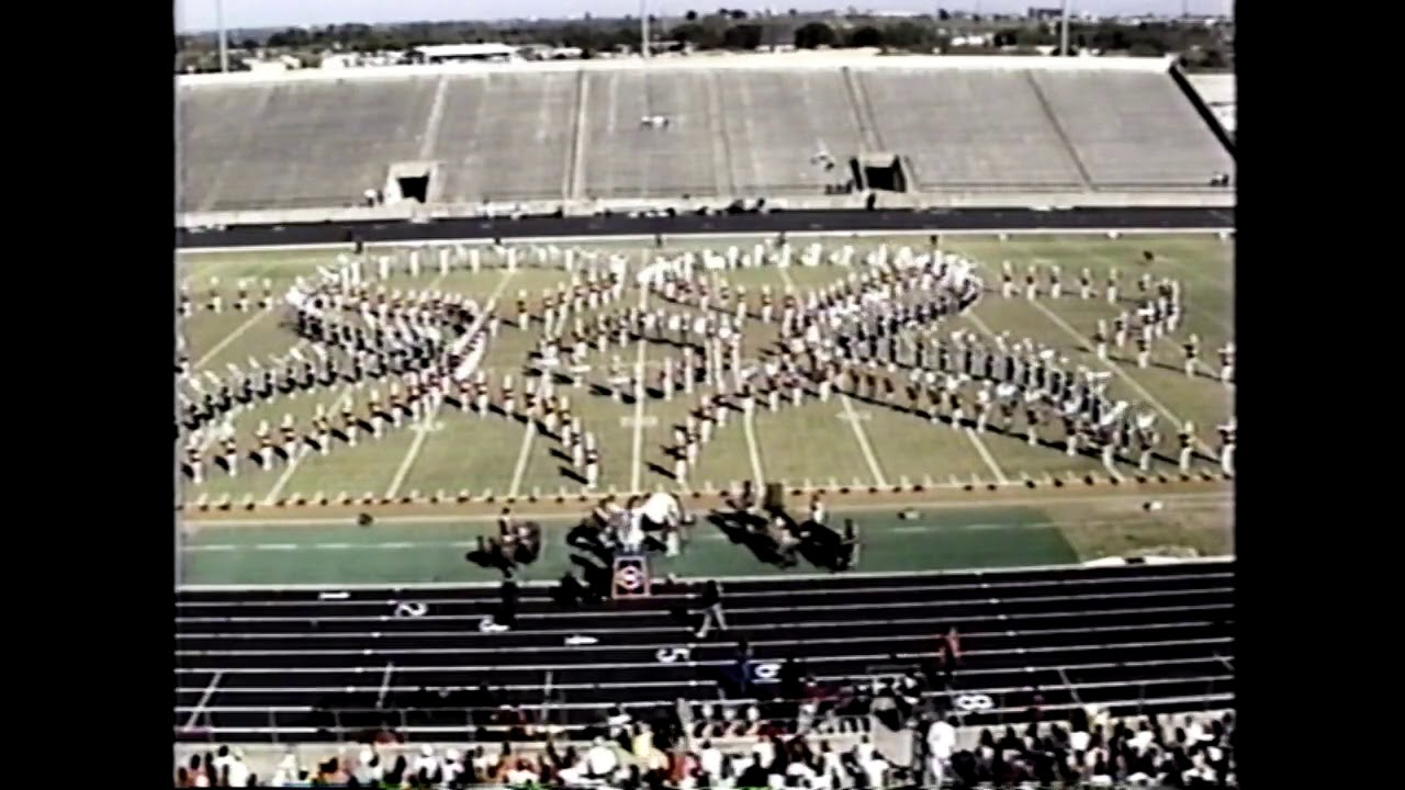 Duncanville High School Band 1990 - UIL 5A State Marching Contest