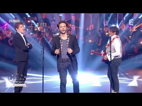 A. Souchon, L. Voulzy, J. Doré, Raphaël et Brigitte – « Rockollection » Victoires de la Musique 2015
