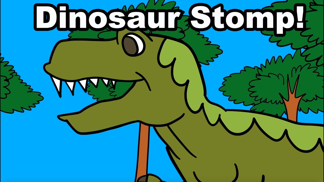 The Dinosaur Song for Children (Official Video) by Patty Shukla