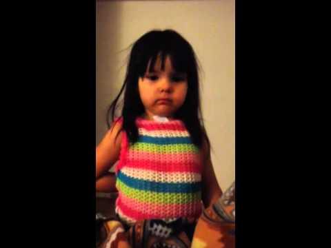 Little Lila interrupting my talk w/ Little Leonard