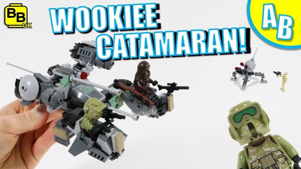 LEGO Star Wars Lot of 10 Wookiee Warrior Minifigures 75261 Mini Figs