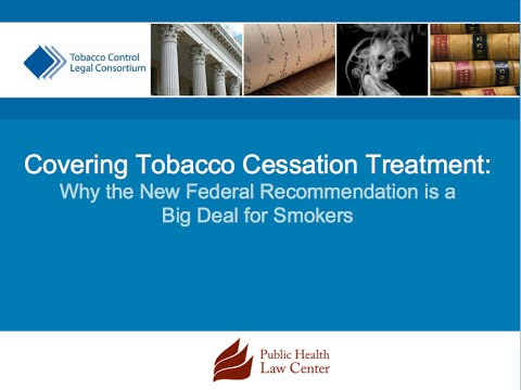 Tobacco Cessation Treatment: New Federal Recommendation Is a Big Deal for Smokers (2015)