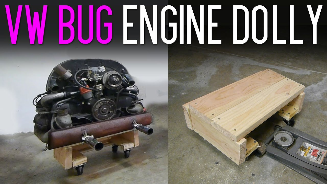 how to build an engine stand out of wood