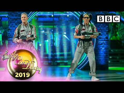 Alex and Kevin dance a Street/Commercial to Ghostbusters - Halloween | BBC Strictly 2019