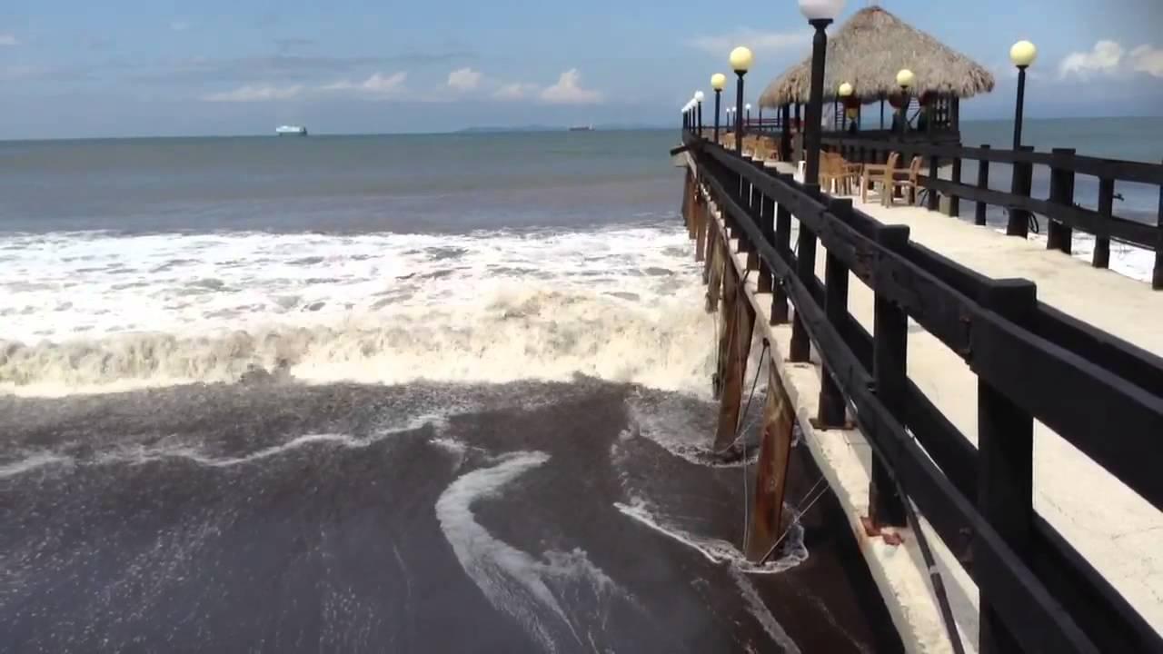 Muelle Hotel Fiesta Puntarenas Youtube