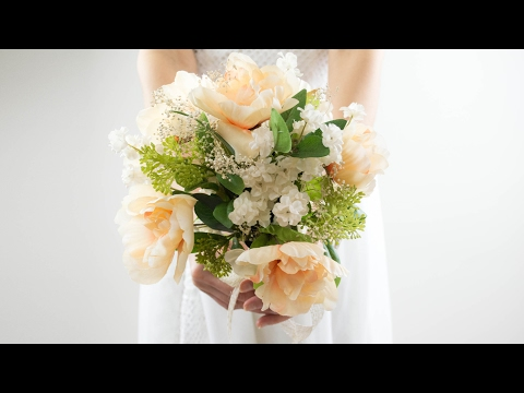 diy-easy-wedding-bouquet-|-simple-and-beautiful