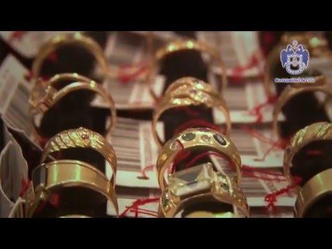 db0cd33d143e Exposición y Venta de Joyas de Oro de la Caja Metropolitana - YouTube